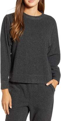 Lou & Grey Herringbone Sweatshirt