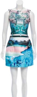 Mary Katrantzou Sleeveless Printed Dress