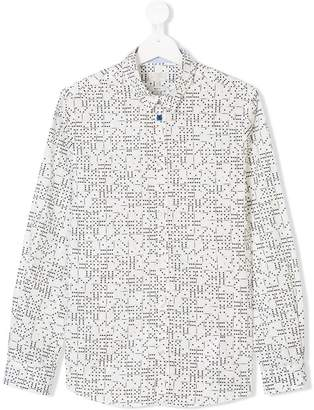Paul Smith TEEN dominos print shirt