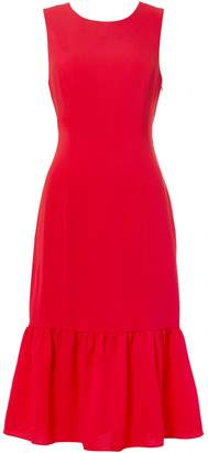 Adrianna Papell Sleeveless Kick Hem Shift Dress