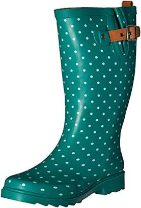 Chooka Women's Waterproof Printed Tall Rain Boot