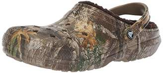 Crocs Clssc Lined Realtree Edge Clog Chocolate