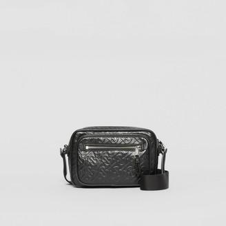 Burberry Monogram Leather Crossbody Bag