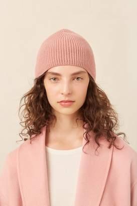 Mansur Gavriel Cashmere Ribbed Hat - Blush