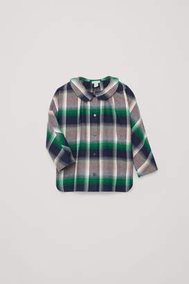 Cos SHIRT WITH ROUNDED COLLAR