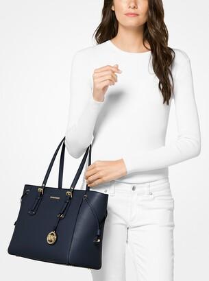ff5708eb0aaa Michael Michael Kors Medium Leather Tote Bag - ShopStyle