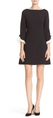Women's Kate Spade New York Ruffle Sleeve Shift Dress $348 thestylecure.com