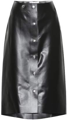 Victoria Beckham Leather skirt