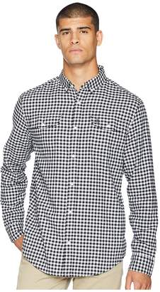 Original Penguin Long Sleeve Textured Gingham Men's Long Sleeve Button Up
