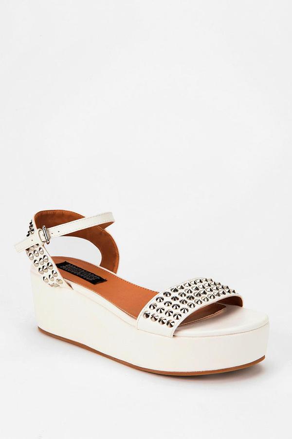 Deena & Ozzy Studded Flatform Sandal