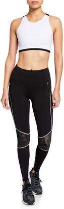 Parker Body Language Sportswear Sportswear Leggings with Perforated Detailing