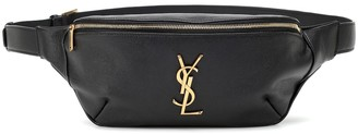 Saint Laurent Classic Monogram leather belt bag