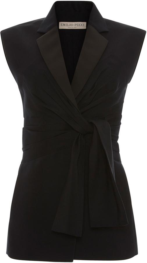 Emilio PucciEmilio Pucci Tailored Tie Vest