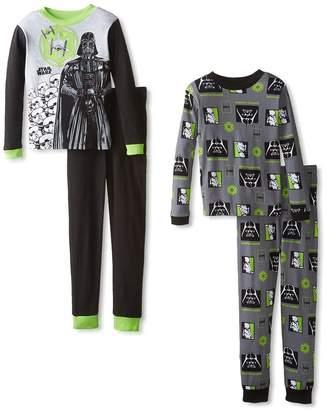 Star Wars Little Boys 4pc & Gray Snug Fit Pajama Pant Set