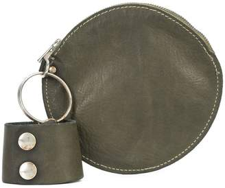 Guidi round pouch bag