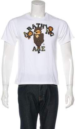 A Bathing Ape Baby Milo T-Shirt