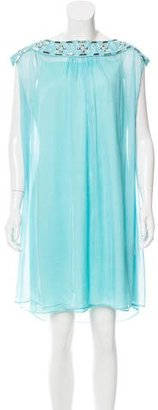 Alice by Temperley Bead-Embellished Woven Dress $75 thestylecure.com