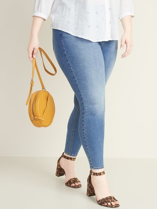 Old Navy High-Waisted Rockstar Plus-Size Pull-On Jeggings