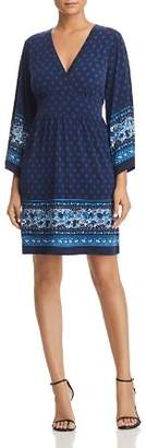 MICHAEL Michael Kors Border-Print Dress