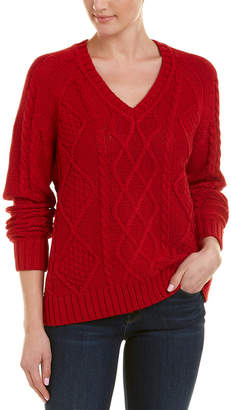 The Kooples Fancy Cable-Knit Sweater