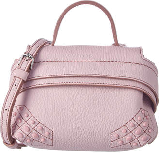 Tod's Wave Micro Leather Satchel
