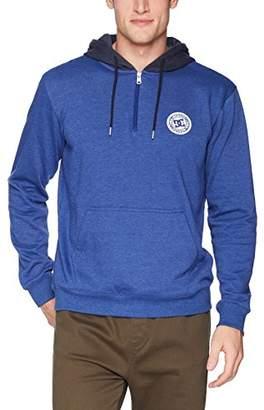 DC Men's Rebel Pullover Half Zip Hoodie Fleece Jacket