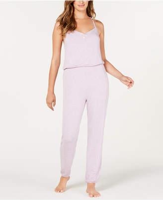 Alfani Knit Pajama Jumpsuit