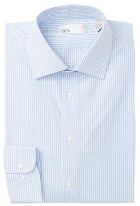 Nordstrom Rack Trim Fit Large Check Dress Shirt