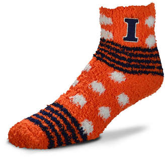 For Bare Feet Illinois Fighting Illini Homegater Sleep Soft Socks
