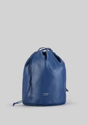 Giorgio Armani Hobo Bag In Nappa Leather