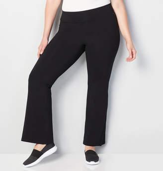 Avenue Pima Cotton Flare Leg Active Pant