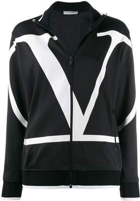 Valentino logo print track jacket