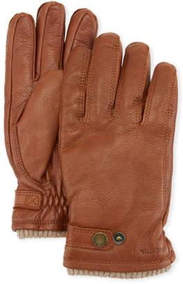 Hestra Men's Utsjo Elk Leather Snap Gloves