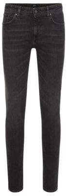 BOSS Hugo Cotton Jean, Slim Fit Charleston 38/34 Charcoal
