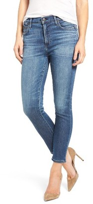 Women's Citizens Of Humanity Rocket High Waist Crop Skinny Jeans $228 thestylecure.com