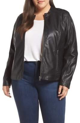 Junarose Faux Leather Jacket