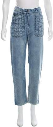 Belstaff High-Rise Straight-Leg Jeans w/ Tags