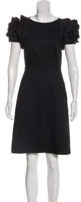 Valentino TechnoCouture Wool Dress