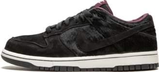 Nike Womens Dunk Low Premium Black/Deep Burgundy