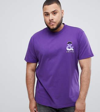 Asos DESIGN X glaad& Spirit Day plus t-shirt