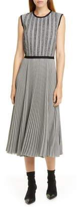 Jason Wu Plaid Midi Dress
