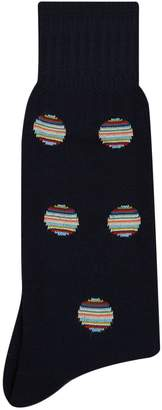 Paul Smith Stripe Circle Socks