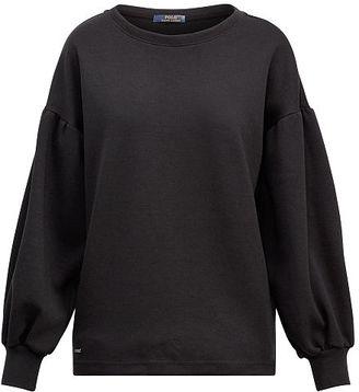 Polo Ralph Lauren Cotton-Blend Crewneck Pullover $145 thestylecure.com