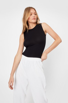 Nasty Gal A Crew Lease of Lise High Neck Bodysuit