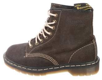 Dr. Martens Suede Ankle Boots