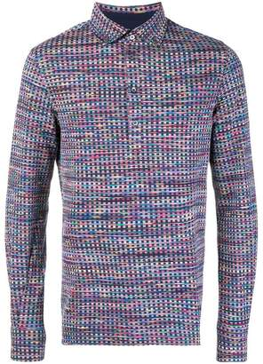 Missoni check print polo shirt