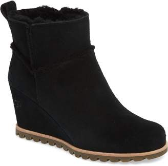 UGG Marte Waterproof Wedge Bootie