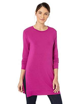 Majestic Filatures Women's French Terry Long Sleeve Tunic