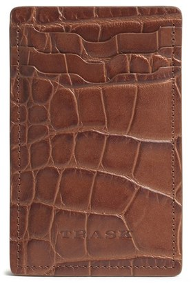 Men's Trask 'Jackson' Money Clip Wallet - Brown $75 thestylecure.com