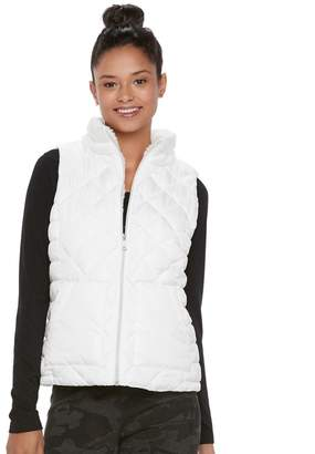 So Juniors' SO Sherpa Lined Puffer Vest